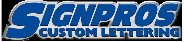 Signpros Custom Lettering - Logo